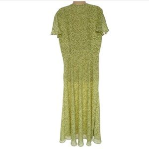 Studio I Dresses - 14 Large XL▪️ELEGANT FLORAL CHIFFON MAXI DRESS